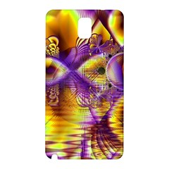Golden Violet Crystal Palace, Abstract Cosmic Explosion Samsung Galaxy Note 3 N9005 Hardshell Back Case