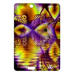 Golden Violet Crystal Palace, Abstract Cosmic Explosion Kindle Fire HD 7  (2nd Gen) Hardshell Case