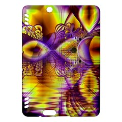 Golden Violet Crystal Palace, Abstract Cosmic Explosion Kindle Fire HDX 7  Hardshell Case
