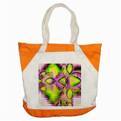 Raspberry Lime Mystical Magical Lake, Abstract  Accent Tote Bag