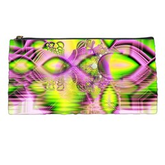 Raspberry Lime Mystical Magical Lake, Abstract  Pencil Case
