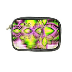 Raspberry Lime Mystical Magical Lake, Abstract  Coin Purse