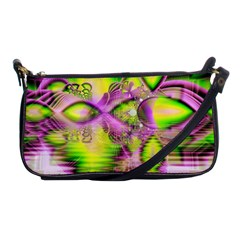 Raspberry Lime Mystical Magical Lake, Abstract  Evening Bag