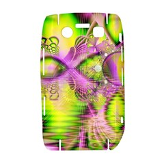 Raspberry Lime Mystical Magical Lake, Abstract  BlackBerry Bold 9700 Hardshell Case