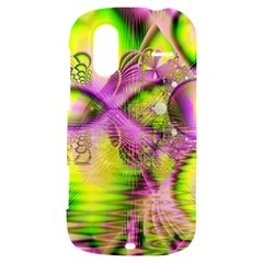 Raspberry Lime Mystical Magical Lake, Abstract  HTC Amaze 4G Hardshell Case