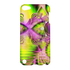 Raspberry Lime Mystical Magical Lake, Abstract  Apple iPod Touch 5 Hardshell Case