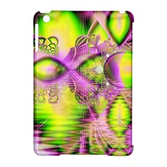 Raspberry Lime Mystical Magical Lake, Abstract  Apple iPad Mini Hardshell Case (Compatible with Smart Cover)