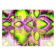 Raspberry Lime Mystical Magical Lake, Abstract  Samsung Galaxy Tab 10 1  P7500 Flip Case