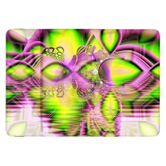 Raspberry Lime Mystical Magical Lake, Abstract  Samsung Galaxy Tab 8 9  P7300 Flip Case