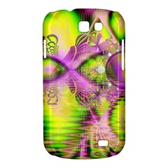Raspberry Lime Mystical Magical Lake, Abstract  Samsung Galaxy Express Hardshell Case