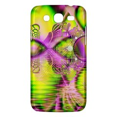 Raspberry Lime Mystical Magical Lake, Abstract  Samsung Galaxy Mega 5.8 I9152 Hardshell Case