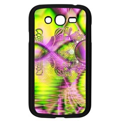 Raspberry Lime Mystical Magical Lake, Abstract  Samsung Galaxy Grand DUOS I9082 Case (Black)