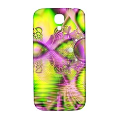 Raspberry Lime Mystical Magical Lake, Abstract  Samsung Galaxy S4 I9500/i9505  Hardshell Back Case