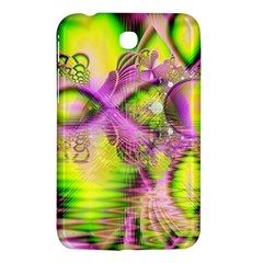 Raspberry Lime Mystical Magical Lake, Abstract  Samsung Galaxy Tab 3 (7 ) P3200 Hardshell Case