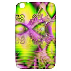 Raspberry Lime Mystical Magical Lake, Abstract  Samsung Galaxy Tab 3 (8 ) T3100 Hardshell Case