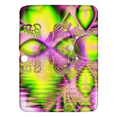 Raspberry Lime Mystical Magical Lake, Abstract  Samsung Galaxy Tab 3 (10.1 ) P5200 Hardshell Case