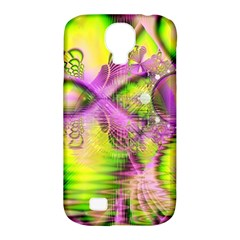 Raspberry Lime Mystical Magical Lake, Abstract  Samsung Galaxy S4 Classic Hardshell Case (PC+Silicone)