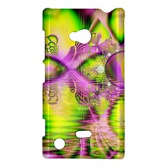 Raspberry Lime Mystical Magical Lake, Abstract  Nokia Lumia 720 Hardshell Case