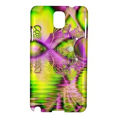 Raspberry Lime Mystical Magical Lake, Abstract  Samsung Galaxy Note 3 N9005 Hardshell Case