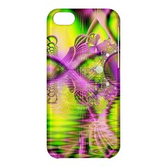 Raspberry Lime Mystical Magical Lake, Abstract  Apple iPhone 5C Hardshell Case