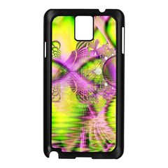 Raspberry Lime Mystical Magical Lake, Abstract  Samsung Galaxy Note 3 N9005 Case (black)