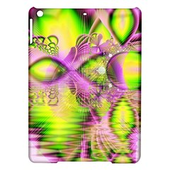Raspberry Lime Mystical Magical Lake, Abstract  Apple iPad Air Hardshell Case