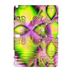 Raspberry Lime Mystical Magical Lake, Abstract  Samsung Galaxy Note 10.1 (P600) Hardshell Case