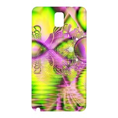 Raspberry Lime Mystical Magical Lake, Abstract  Samsung Galaxy Note 3 N9005 Hardshell Back Case