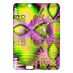 Raspberry Lime Mystical Magical Lake, Abstract  Kindle Fire Hdx 7  Hardshell Case