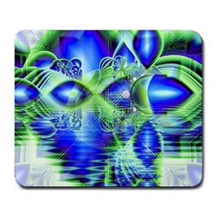 Irish Dream Under Abstract Cobalt Blue Skies Large Mouse Pad (Rectangle)