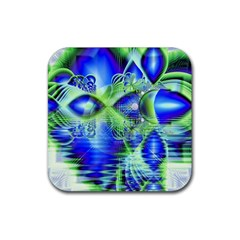 Irish Dream Under Abstract Cobalt Blue Skies Drink Coaster (Square)