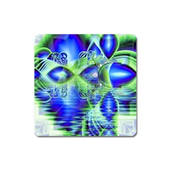 Irish Dream Under Abstract Cobalt Blue Skies Magnet (Square)