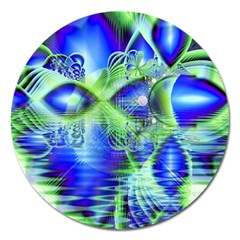 Irish Dream Under Abstract Cobalt Blue Skies Magnet 5  (Round)