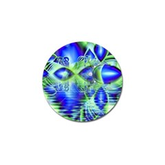 Irish Dream Under Abstract Cobalt Blue Skies Golf Ball Marker