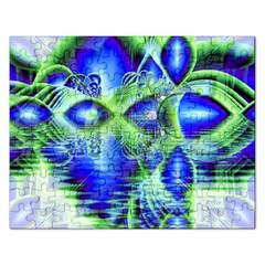 Irish Dream Under Abstract Cobalt Blue Skies Jigsaw Puzzle (Rectangle)