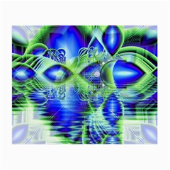 Irish Dream Under Abstract Cobalt Blue Skies Glasses Cloth (Small)
