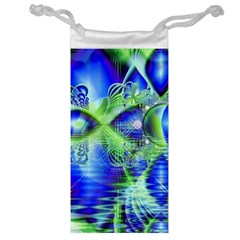 Irish Dream Under Abstract Cobalt Blue Skies Jewelry Bag