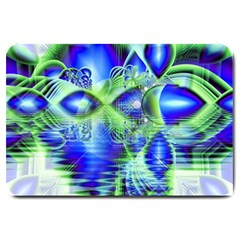 Irish Dream Under Abstract Cobalt Blue Skies Large Door Mat