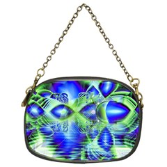 Irish Dream Under Abstract Cobalt Blue Skies Chain Purse (Two Sided)