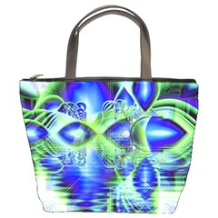 Irish Dream Under Abstract Cobalt Blue Skies Bucket Handbag