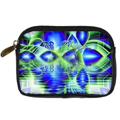 Irish Dream Under Abstract Cobalt Blue Skies Digital Camera Leather Case