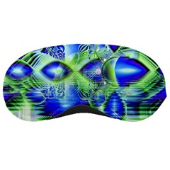 Irish Dream Under Abstract Cobalt Blue Skies Sleeping Mask