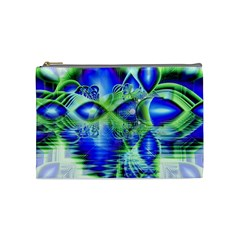 Irish Dream Under Abstract Cobalt Blue Skies Cosmetic Bag (Medium)