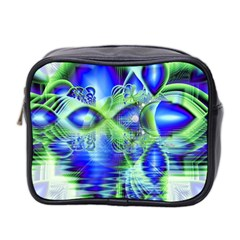 Irish Dream Under Abstract Cobalt Blue Skies Mini Travel Toiletry Bag (Two Sides)