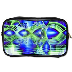 Irish Dream Under Abstract Cobalt Blue Skies Travel Toiletry Bag (two Sides)