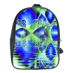 Irish Dream Under Abstract Cobalt Blue Skies School Bag (xl)