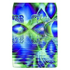 Irish Dream Under Abstract Cobalt Blue Skies Removable Flap Cover (large)