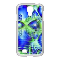 Irish Dream Under Abstract Cobalt Blue Skies Samsung GALAXY S4 I9500/ I9505 Case (White)