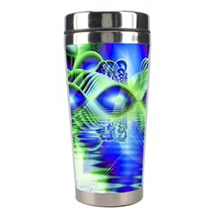 Irish Dream Under Abstract Cobalt Blue Skies Stainless Steel Travel Tumbler