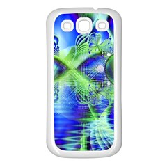 Irish Dream Under Abstract Cobalt Blue Skies Samsung Galaxy S3 Back Case (White)